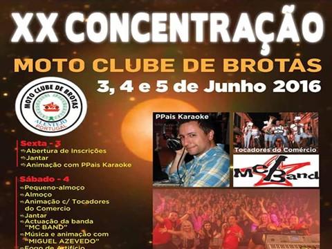 XX Concentração do Moto Clube de Brotas - XX Concentração do Moto Clube de Brotas