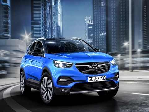 Novo Opel SUV Grandland X