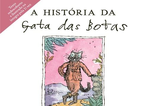 """Novidades Livros: """"A História da Gata das Botas"""" de Beatrix Potter"""
