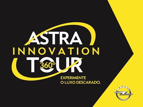 Astra Innovation Tour 360º - O Opel Astra em roadshow nacional