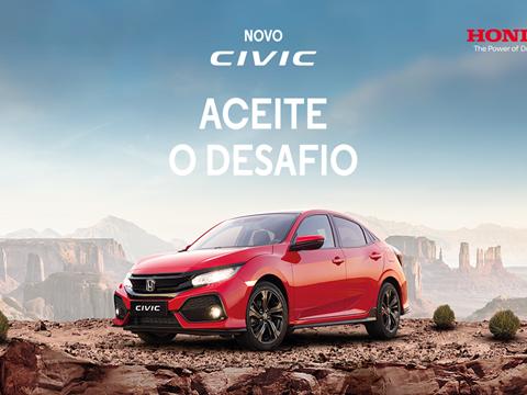 Novo Honda Civic já disponível em Portugal