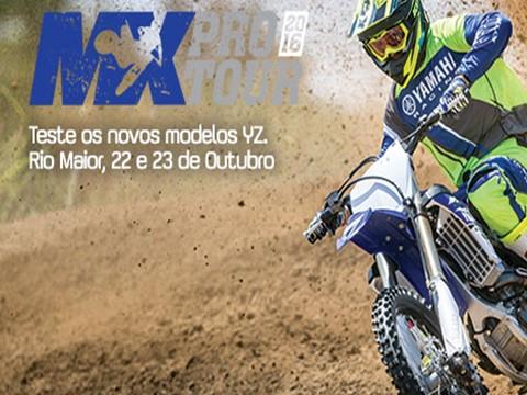 MX PRO TOUR em Portugal, realiza-se nos dias 22 e 23 de Outubro em Rio Maior - Experimente os modelos YZ de 2017 no MX Pro Tour