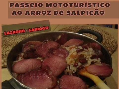 19/02/2017 - Passeio Mototurístico ao Arroz de Salpicão (Lazarim-Lamego)