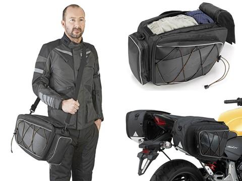 Andar de Moto: Alforges extensíveis para moto Kappa RA303