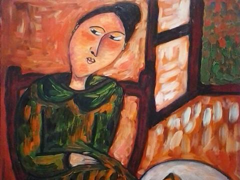 Exposição IVA MILANOVA - Exposição de Pintura da artista Iva Milanova