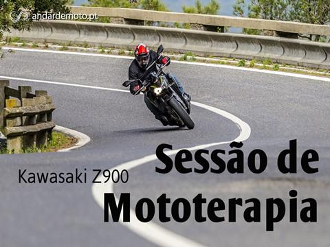 Andar de Moto: Teste Kawasaki Z900 - Sessão de mototerapia