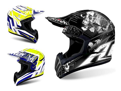 Airoh Switch - um novo capacete off-road, ultra leve no peso e no preço.