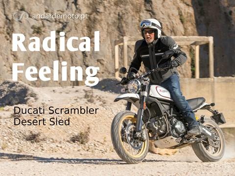 Andar de Moto: Teste Ducati Scrambler Desert Sled - Radical feeling