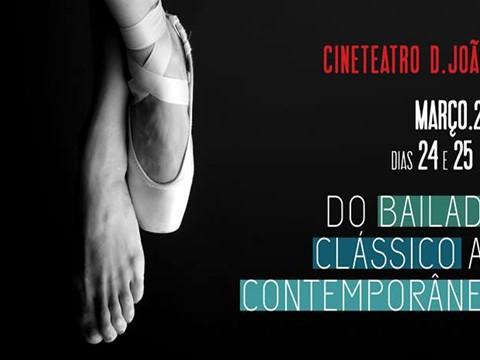"""Quorum Ballet apresenta """"Do Clássico ao Contemporãneo"""" na Damaia"""