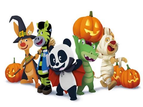 Canal Panda convida espectadores para a 10ª Festa de Halloween