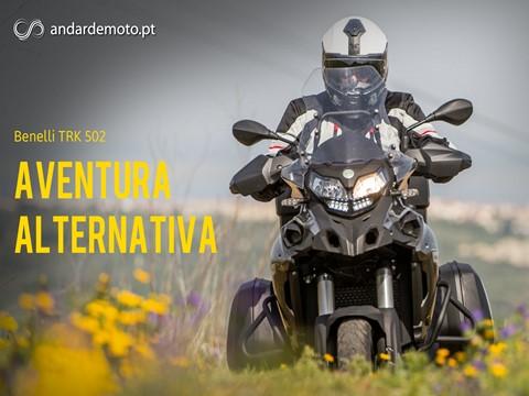Teste Benelli TRK 502 - Aventura Alternativa