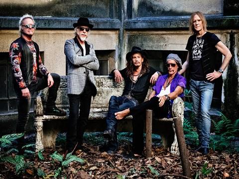 Aerosmith em Portugal com European Farewell Tour 2017