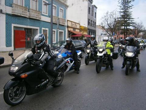 Passeio Moto Clube Feminino - Arrábida, Abril de 2016