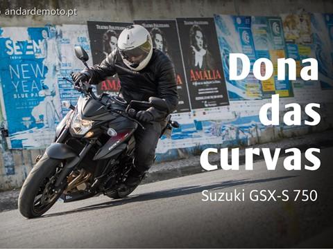 Teste Suzuki GSX-S 750 - Dona das curvas