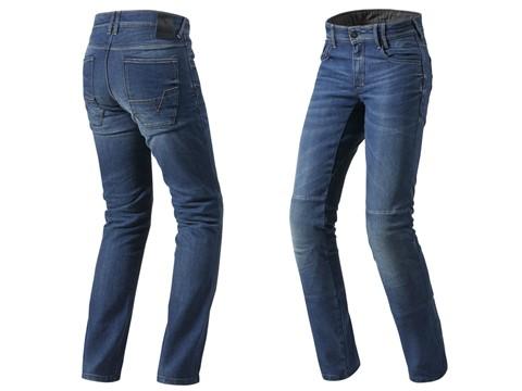Calças de motociclismo Rev'ít Corona TF Jeans