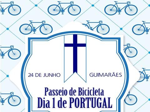 """Passeio de Bicicleta """"Dia 1 de Portugal"""""""