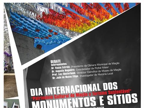 O Museu de Arte Pré-Histórica de Mação promove debate no Dia Internacional dos Monumentos e Sítios