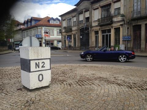 MX-5 reviveram o passado de Norte a Sul de Portugal - Club MX-5 Portugal: Passeio N2 - A Estrada Mais Longa