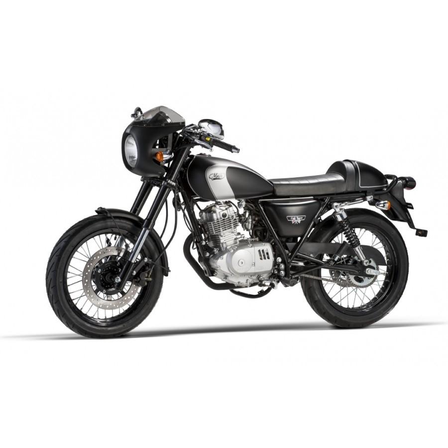 mash cafe racer black edition 125 motonews andar de moto. Black Bedroom Furniture Sets. Home Design Ideas