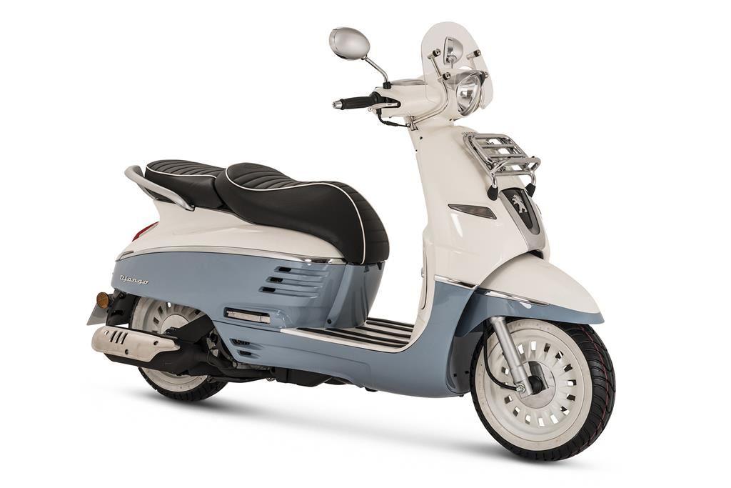 peugeot django 125 evasion scooter 125cc andar de moto. Black Bedroom Furniture Sets. Home Design Ideas