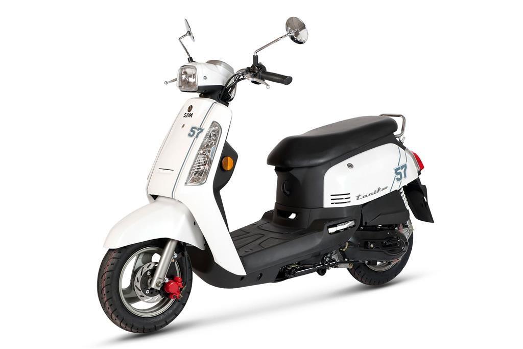 sym tonik 125 scooter scooters lombas e curvas. Black Bedroom Furniture Sets. Home Design Ideas