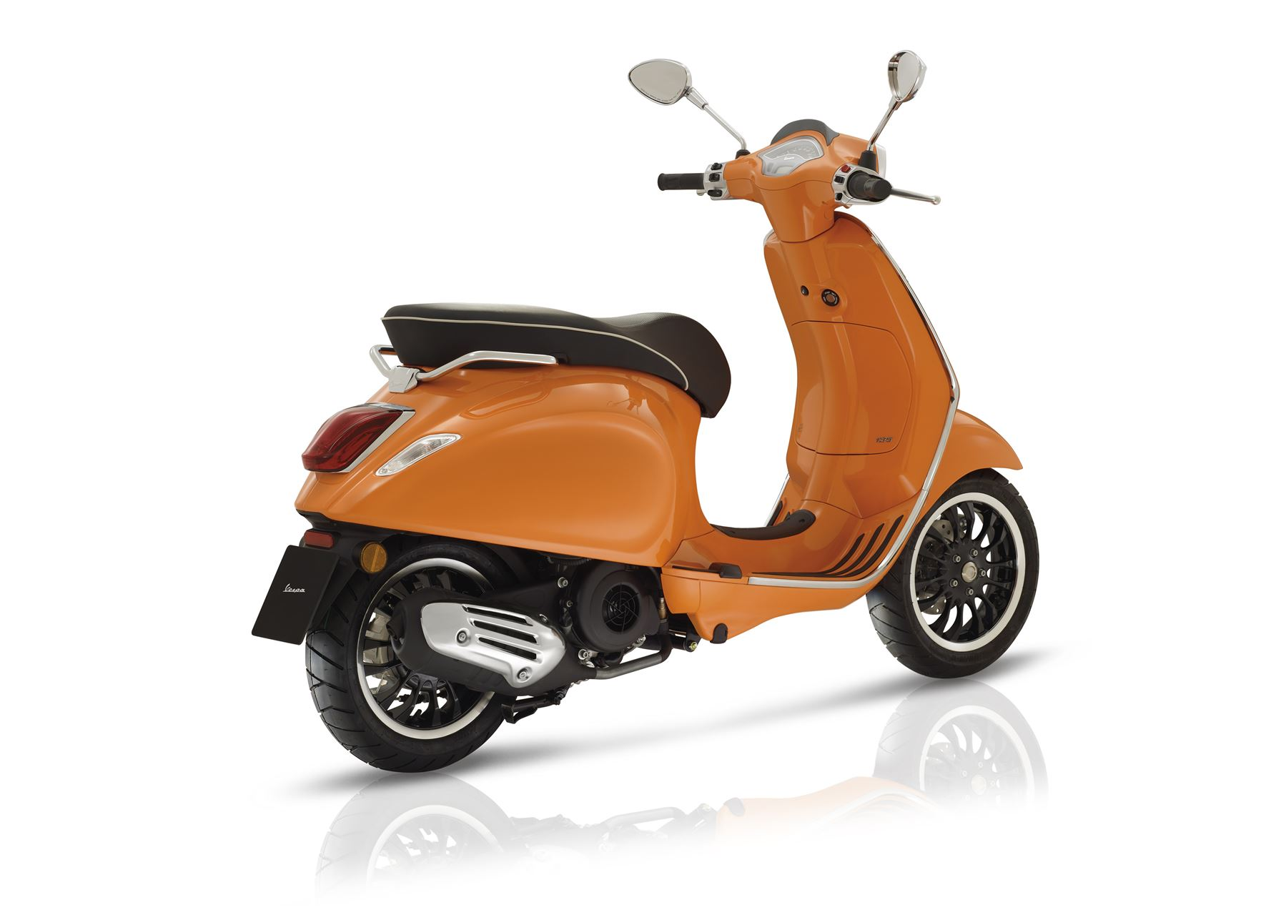 vespa sprint 125 scooter gama 125cc andar de moto. Black Bedroom Furniture Sets. Home Design Ideas