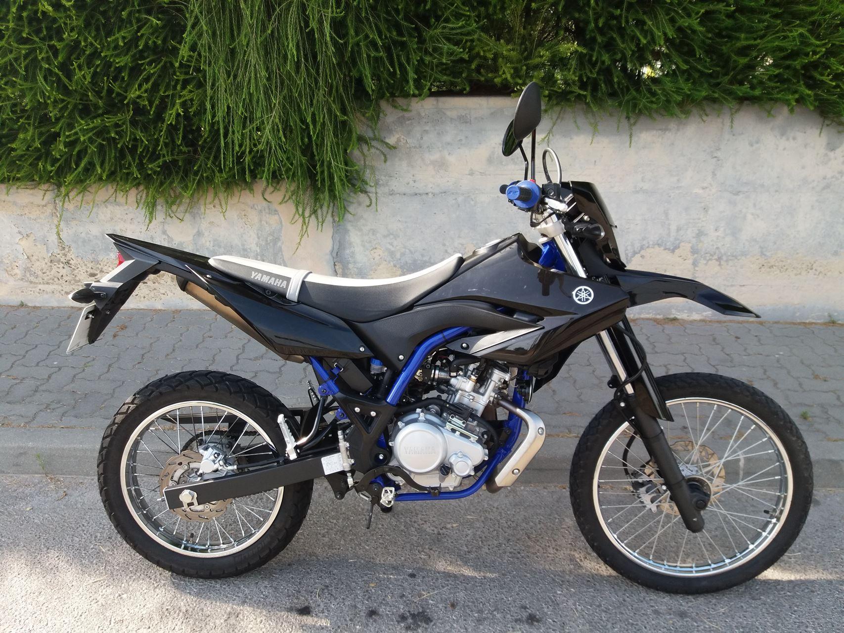 yamaha wr yamaha wr 125 moto usada pre o p17459 j b com rcio de motos andar de moto. Black Bedroom Furniture Sets. Home Design Ideas