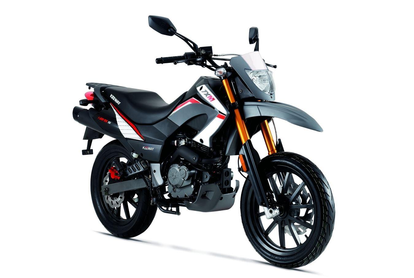 keeway tx supermoto 125 moto moto 125 andar de moto. Black Bedroom Furniture Sets. Home Design Ideas