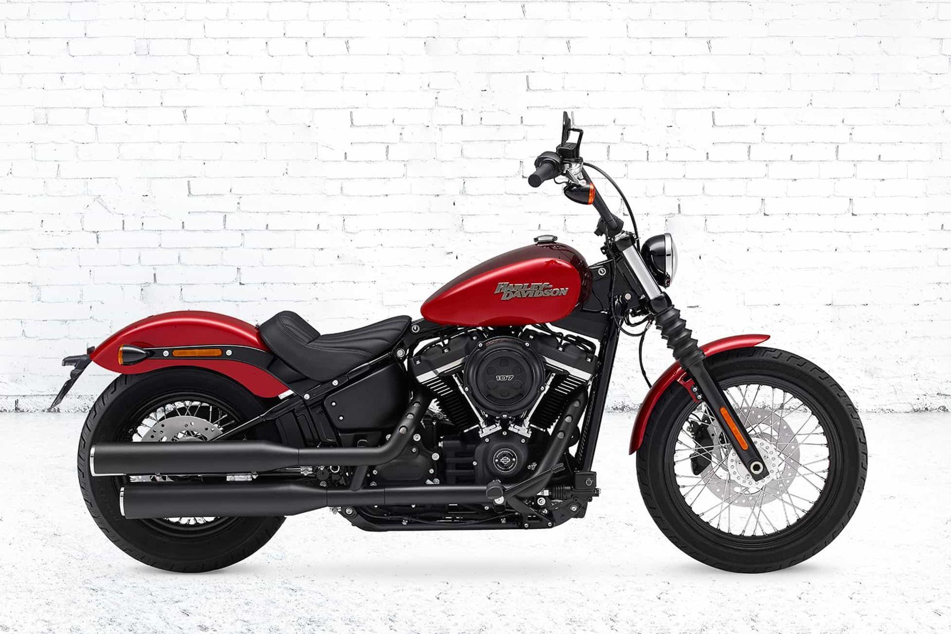 harley davidson street bob moto softail andar de moto. Black Bedroom Furniture Sets. Home Design Ideas