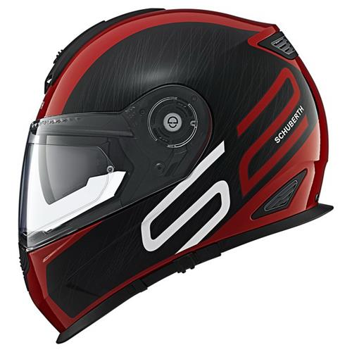 Schuberth S2 Sport drag red