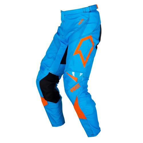 FIRST RACING Calça SCAN Azul/Laranja 2018 FIRST