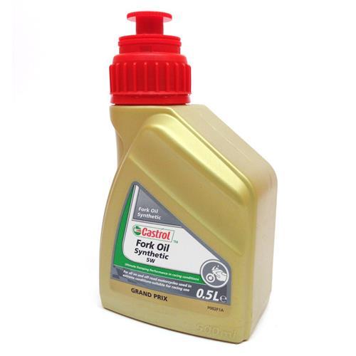CASTROL Fork Oil 5W Sintetico (Garrafa 0.5 ml)