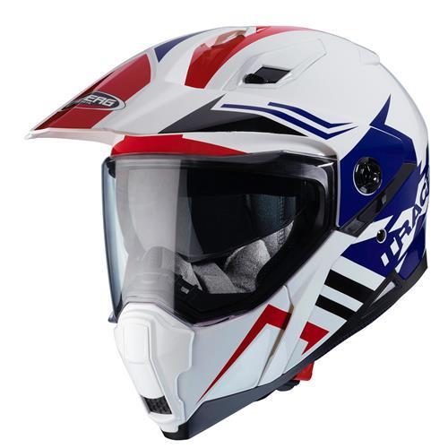 CABERG XTRACE LUX Branco/Azul/Vermelho
