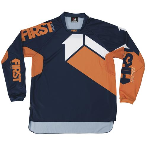 FIRST RACING Camisola SCAN Laranja 2017 FIRST