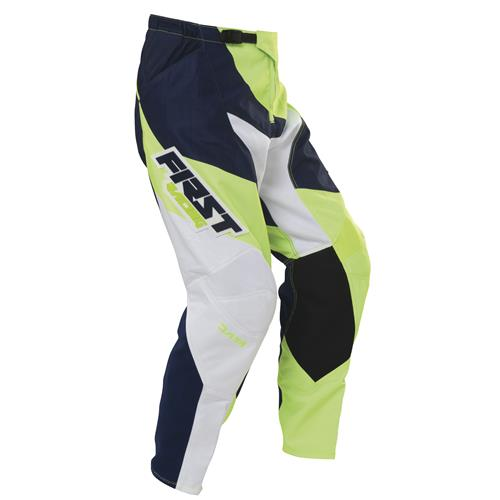 FIRST RACING Calça DATA NEON/Verde 2017