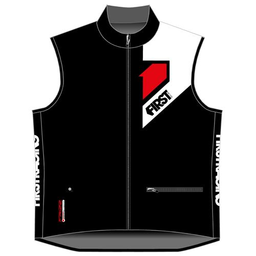 FIRST RACING Colete Frizz BodyWarmer Preto