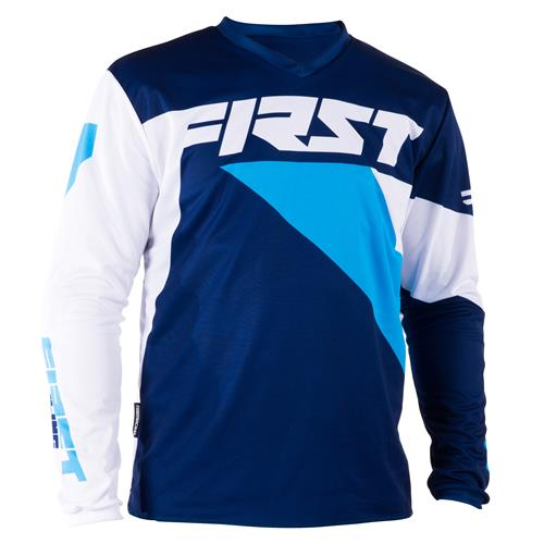 FIRST RACING Camisola DATA Navy/Azul 2018
