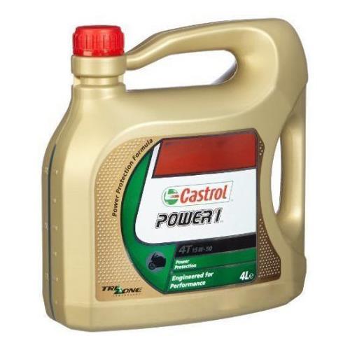 CASTROL Power 1 4T 15W-50 Garrafa 4 Litros