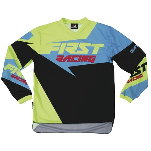 FIRST RACING Camisola DATA Azul 2017