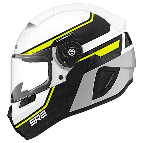 Schuberth SR2 lightning yellow