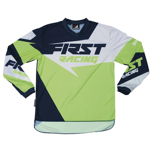 FIRST RACING Camisola DATA NEON/Verde 2017
