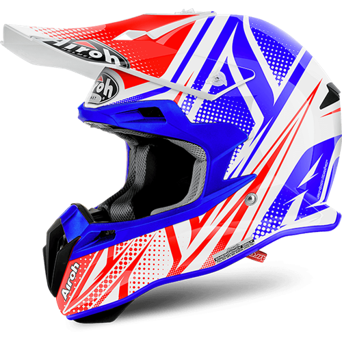 AIROH Capacete TERMINATOR 2.1 S CLEFT Gloss