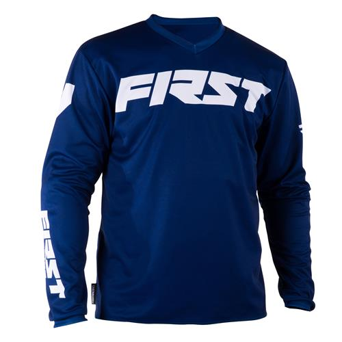 FIRST RACING Camisola DATA Navy 2018