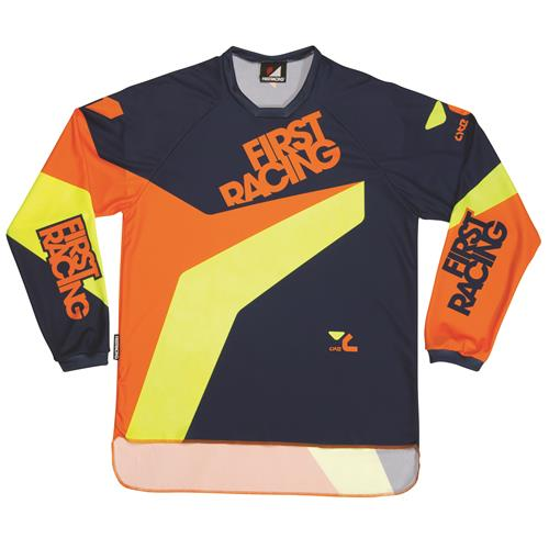 FIRST RACING Camisola LITE Laranja 2016