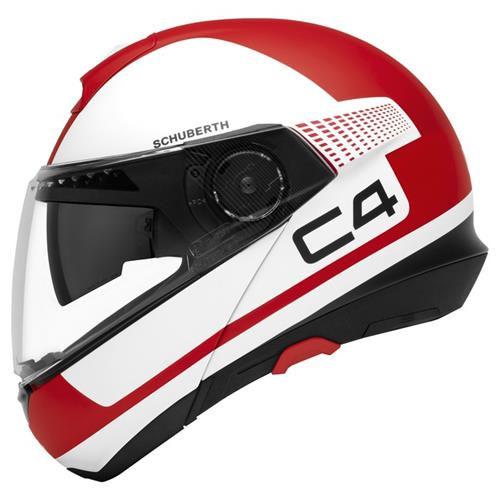 Schuberth C4 legacy red
