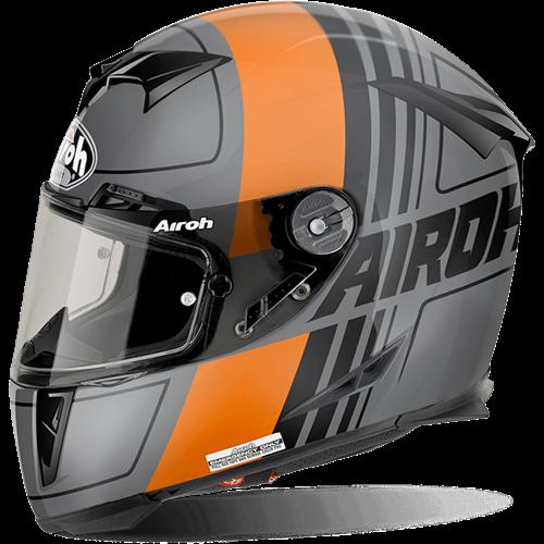 AIROH Capacete GP500 SCRAPE Laranja Matt AIROH