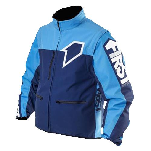 FIRST RACING Blusão ENDURO LIGHT RACER Navy/Azul FIRST