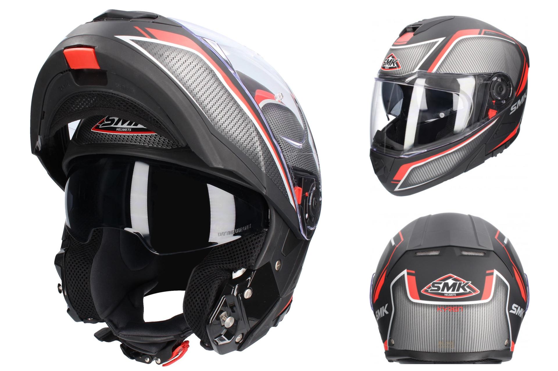 e78b849b3db O SMK Glide apresenta-se como uma proposta muito competitiva dentro do  segmento dos capacetes modulares, tendo sido projetado para responder às  necessidades ...