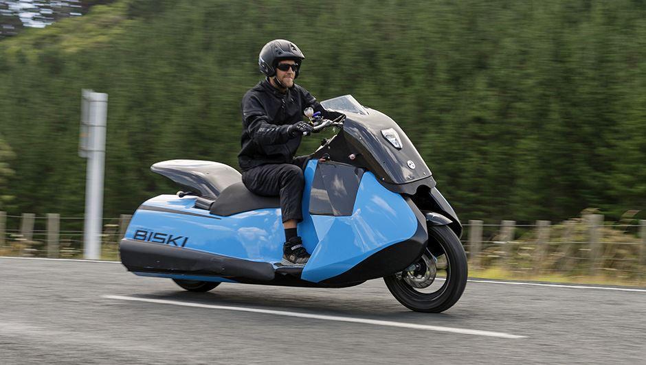 d5fd8d36223 Gibbs Biski - uma moto anfíbia. - MotoNews - Andar de Moto