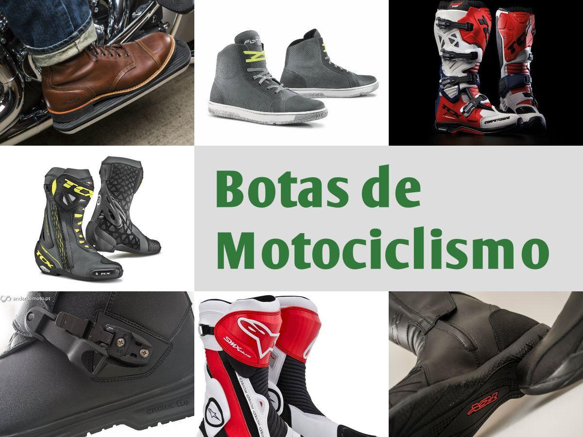 24ff07b2f9 Qualquer motociclista com menos experiência tem tendência a menosprezar a  importância de um bom par de botas